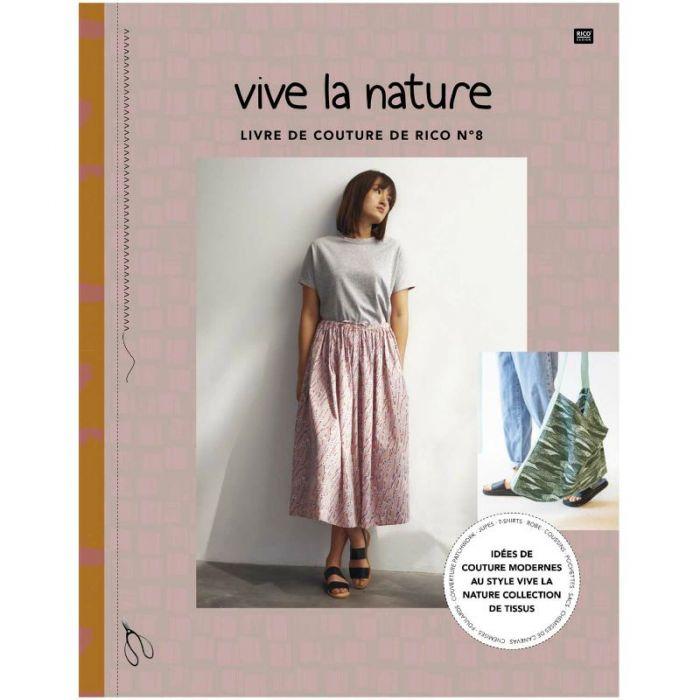 Vive la nature : livre de couture de Rico n°8 - Rico Design