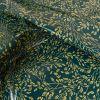 Tissu toile cirée Meadows pétrole - Au Maison