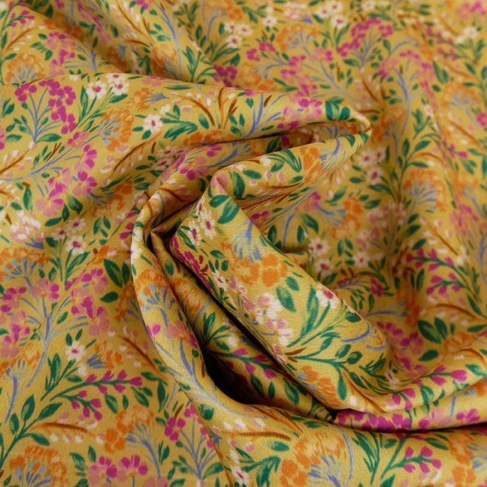 Tissu coton Parme x 10 cm