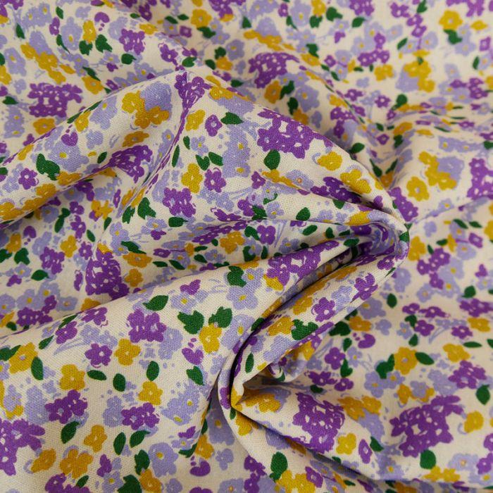Tissu viscose lin Sadao x 10 cm