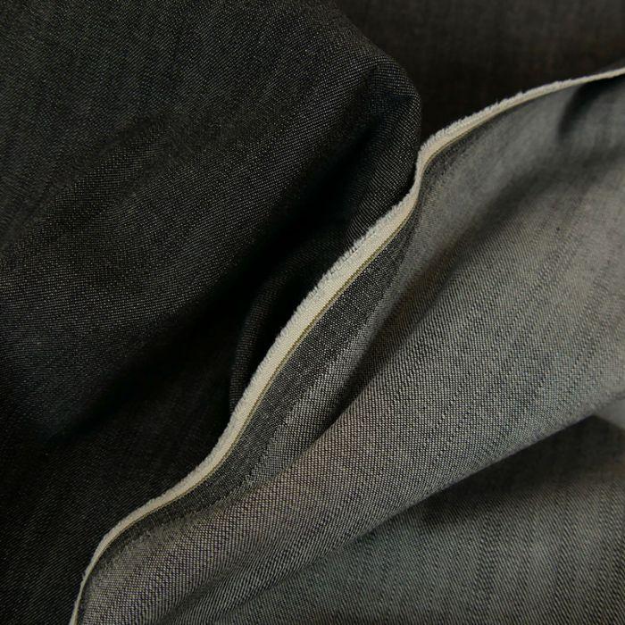 Tissu jean denim élasthanne - noir x 10 cm