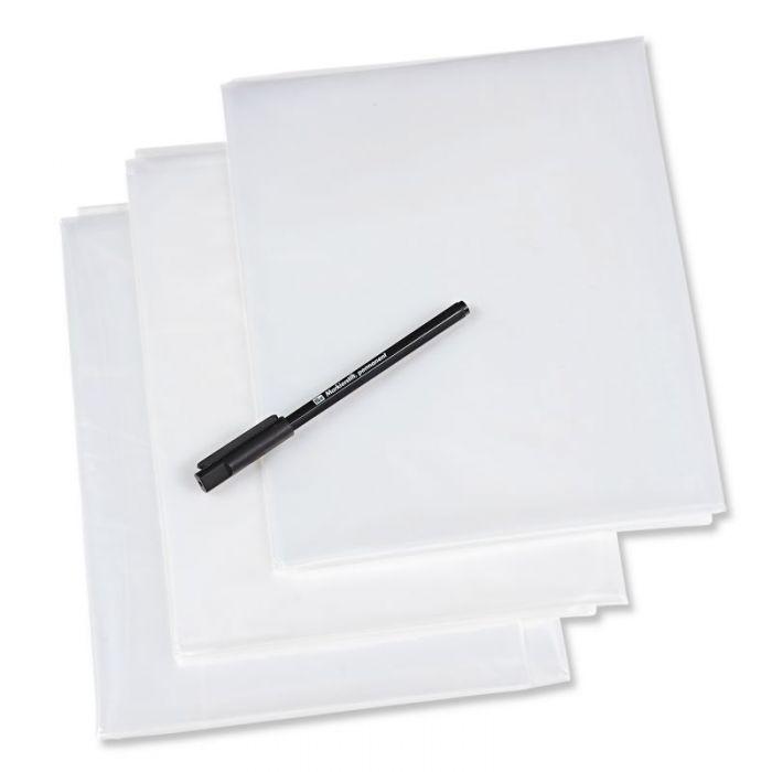 Papier patron transparent + crayon - Prym