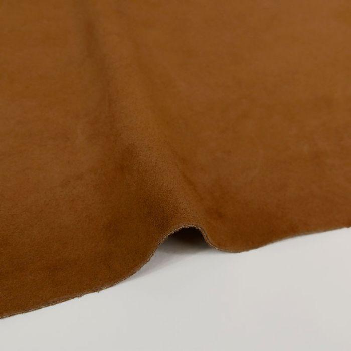 Coupon de croûte cuir uni - camel