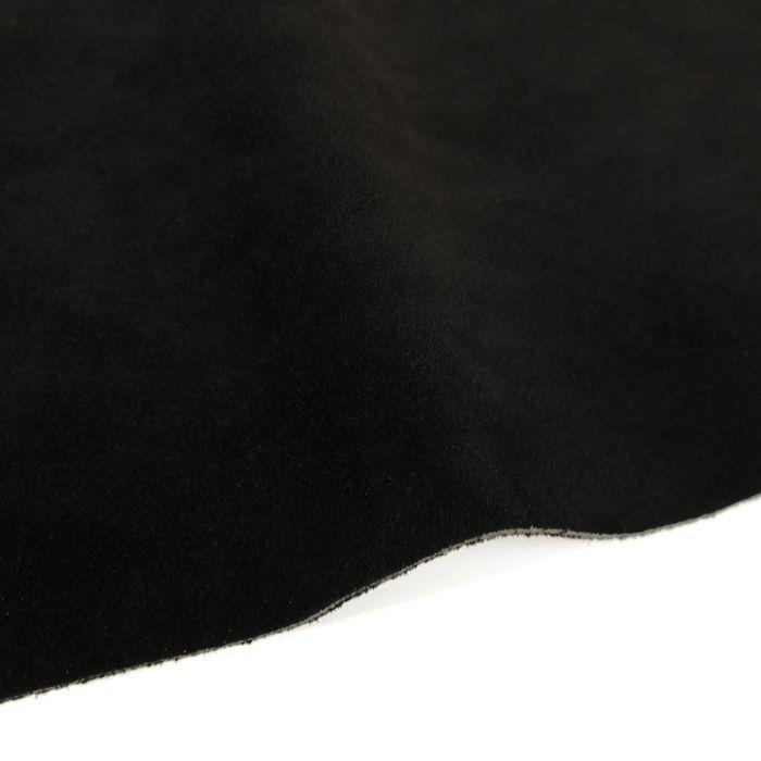 Coupon de croûte cuir uni - noir