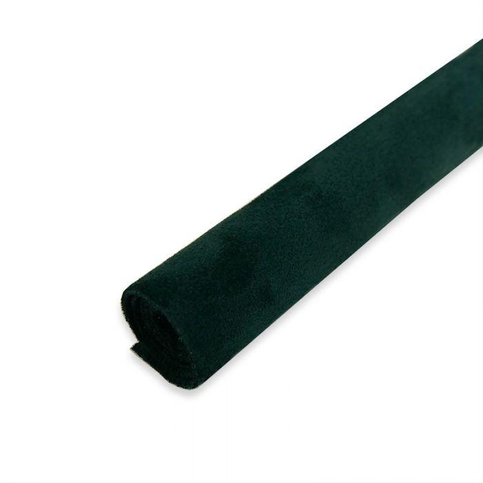 Coupon de croûte cuir uni - vert