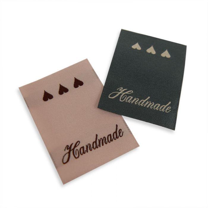 Etiquettes à coudre handmade x 6