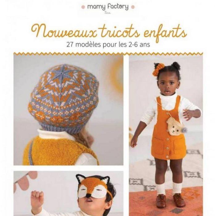 Nouveaux tricots enfants - Mamy factory