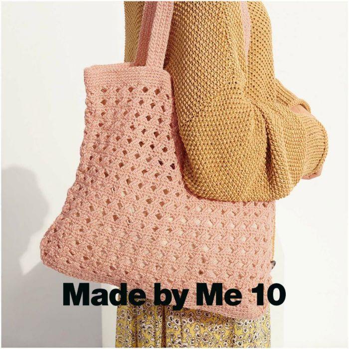 Kit crochet sac rose en chanvre - Rico Design