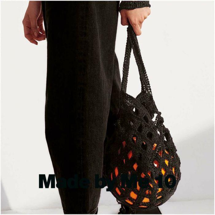 Kit crochet sac filet en chanvre - Rico Design