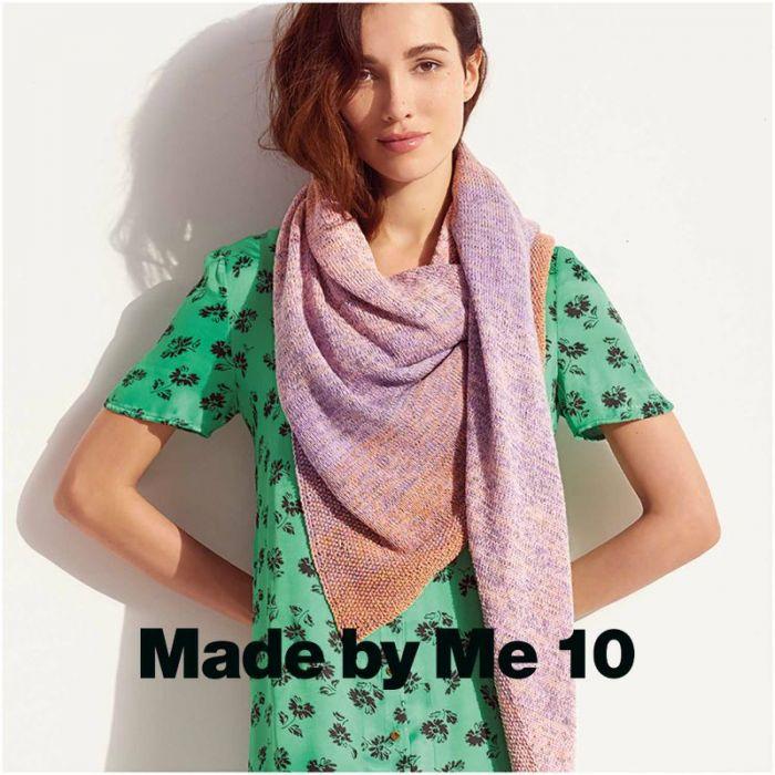 Kit tricot châle en coton dégradé - Rico design