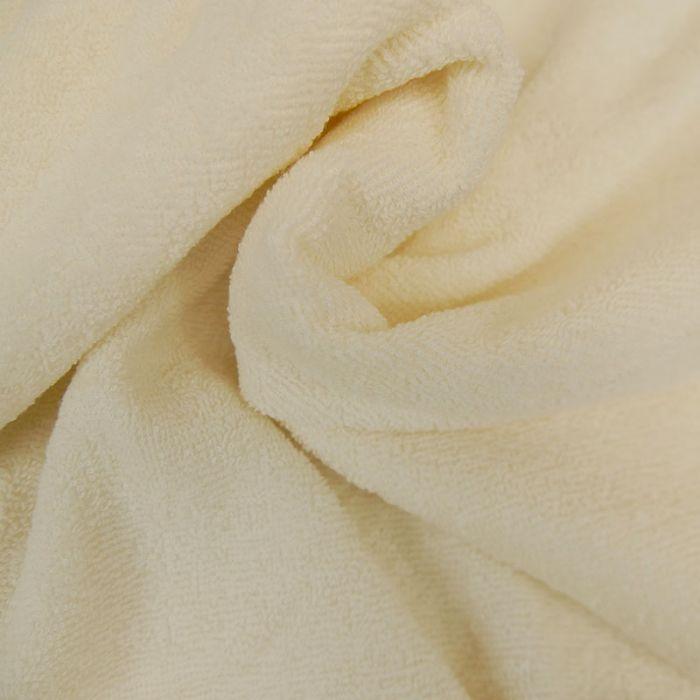 Tissu éponge écru x 10 cm
