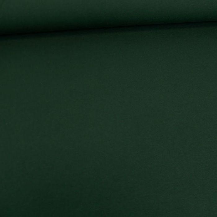 Tissu jersey coton bio uni - forêt x 10cm