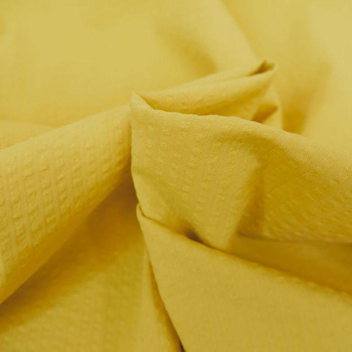 Tissu seersucker coton banane - France Duval Stalla x 10 cm