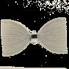 Pendentif résille noeud papillon 91mm argent x1