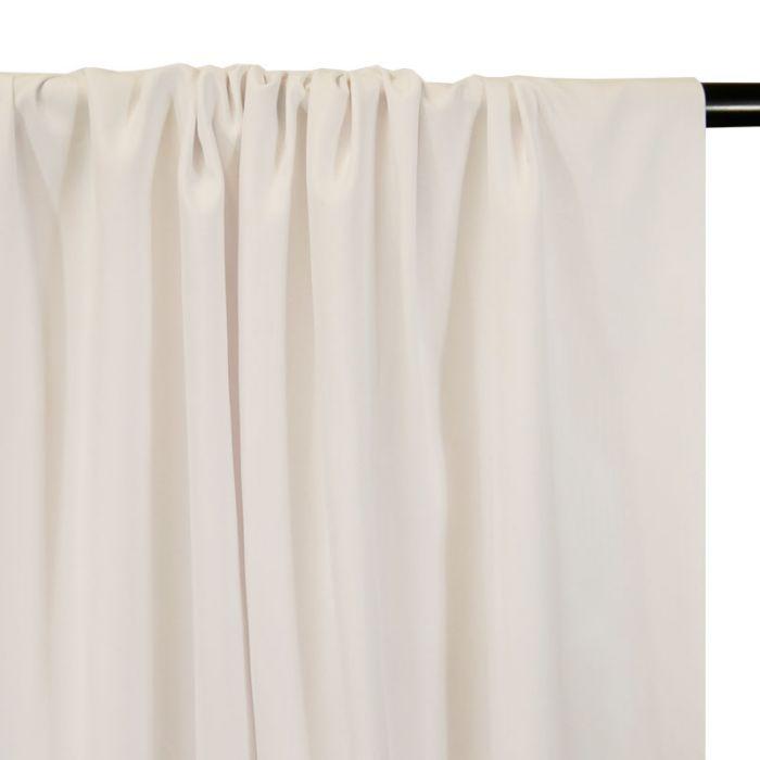 Tissu coton chevrons blanc - France Duval Stalla x 10 cm