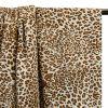 Tissu coton imprimé léopard x 10 cm