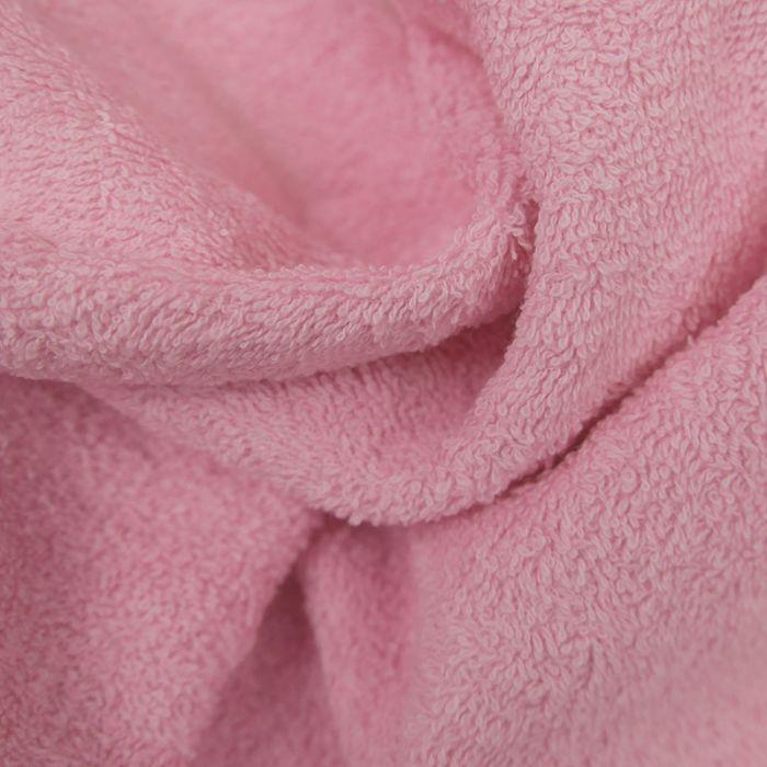 Tissu éponge rose x 10 cm