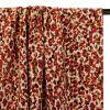 Tissu viscose camouflage - terracotta x 10 cm