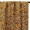Tissu viscose camouflage - moutarde x 10 cm