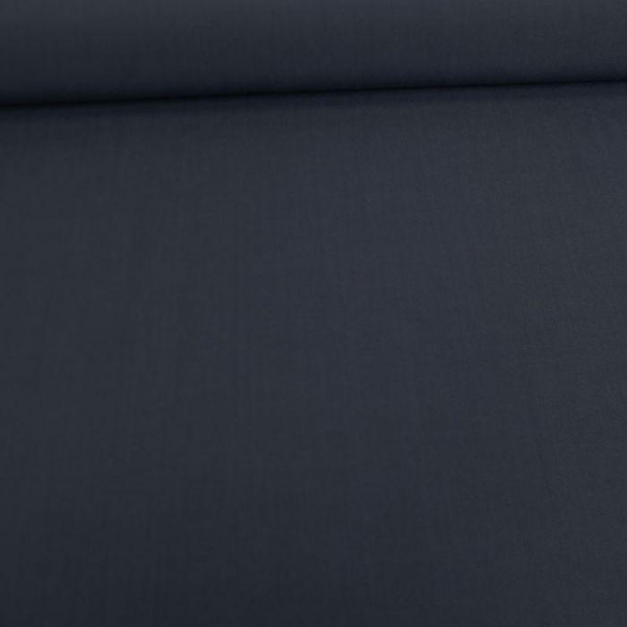 Tissu viscose uni - bleu foncé x 10 cm