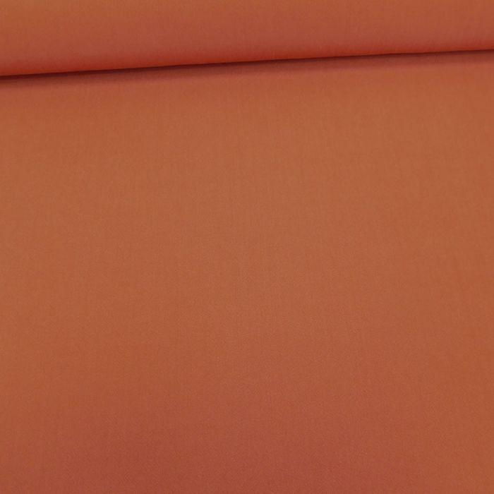 Tissu viscose uni - orange foncé x 10 cm