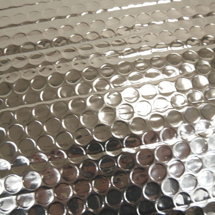 Tissu film isolant thermique - argent x 10 cm