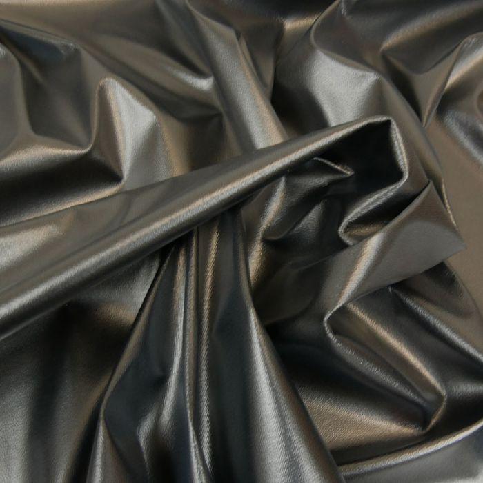 Tissu PUL imperméable stretch - noir x 10 cm