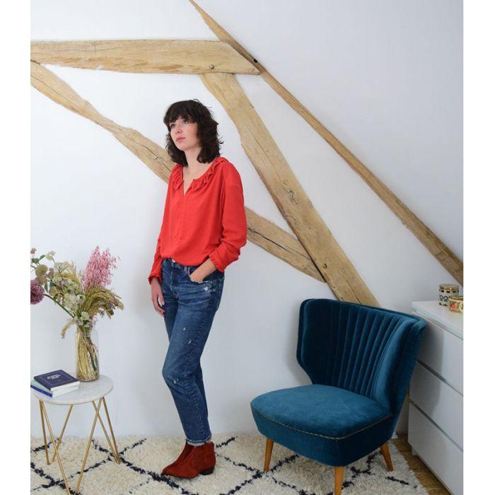Blouse Yvette - Cousette Patterns