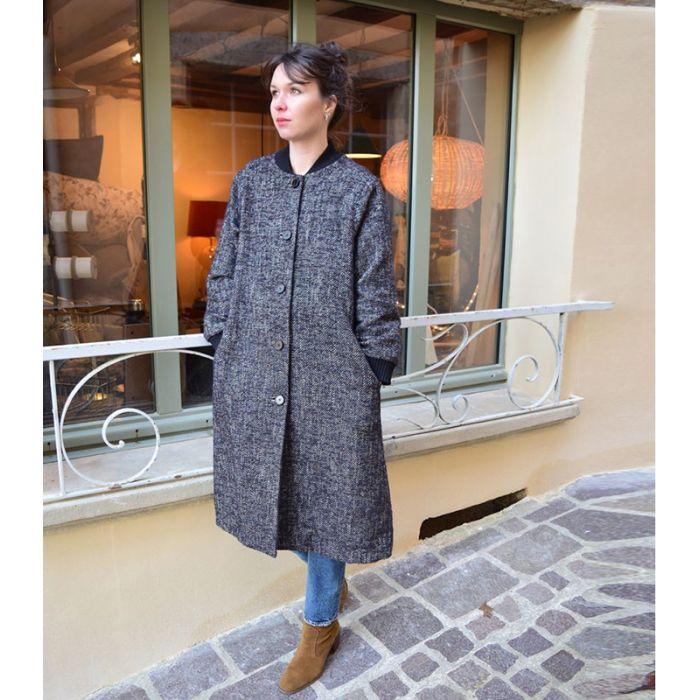 Manteau Frisquette - Cousette Patterns