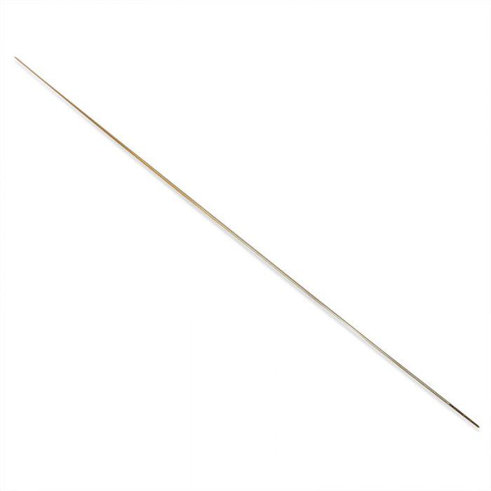 Aiguille à perler à grand chas 54 mm x1