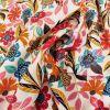 Tissu rayonne Gardenia écru - Dashwood x 10 cm