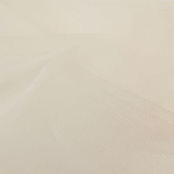 Tissu tulle fin souple - blanc x 10 cm