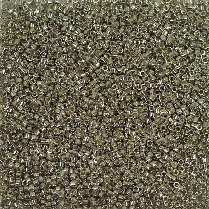 Miyuki Delicas 11/0 - Galvanized Silver - DB035 x6g