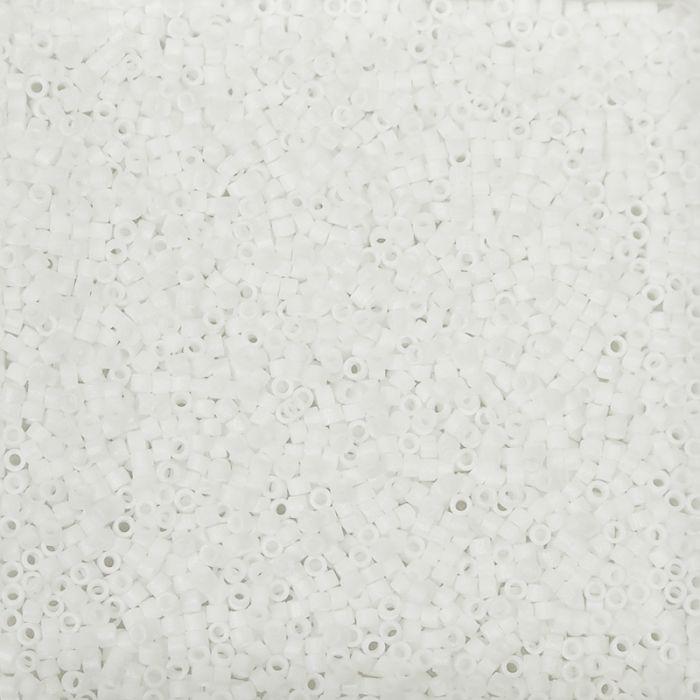 Miyuki Delicas 11/0 - Matte White - DB351 x6g