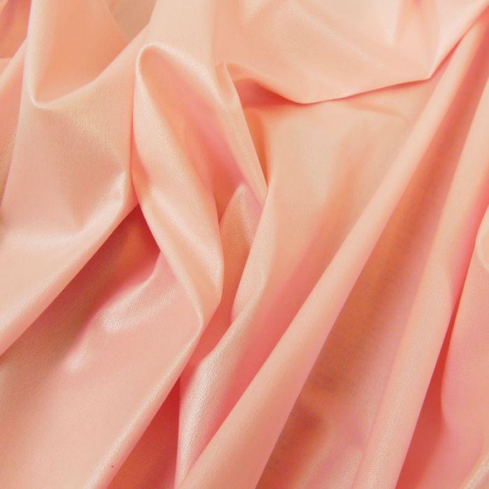 Tissu PUL imperméable stretch - rose nacré x 10 cm
