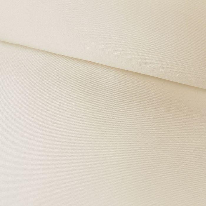 Tissu doublure soie cupro - blanc cassé x 10 cm
