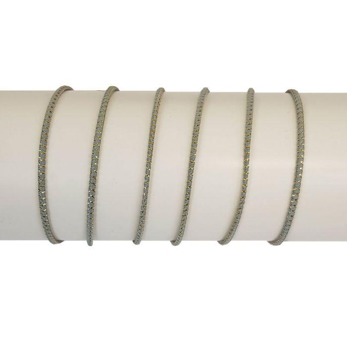 Cordon élastique lurex x 10 cm