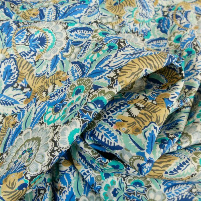 Tissu Liberty of London Prince Milo Bleu x 10 cm
