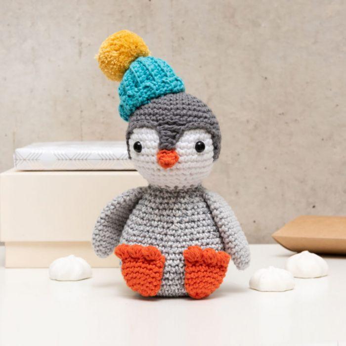 Kit crochet amigurumi Ricorumi - pingouin