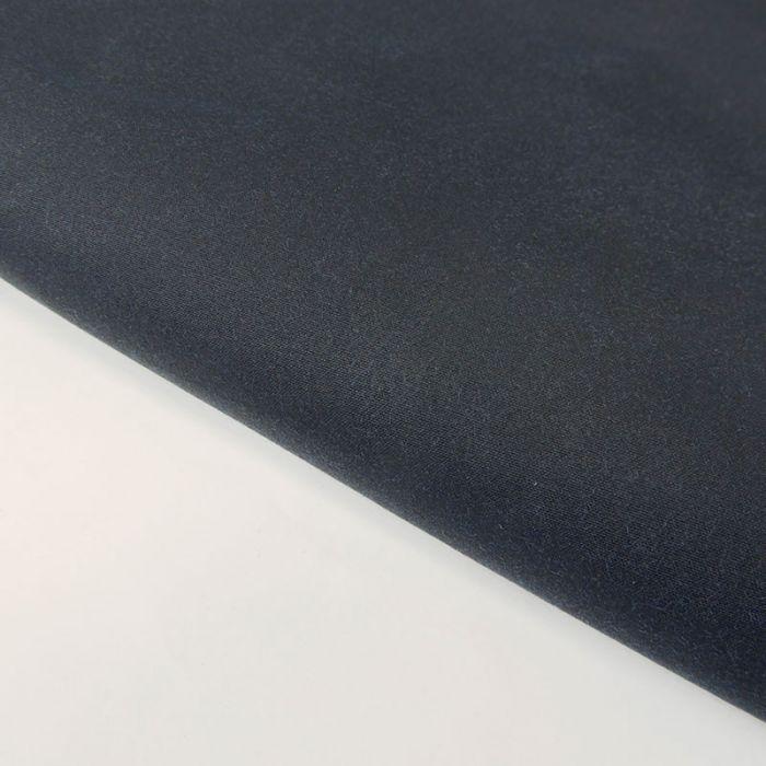 Tissu coton huilé sec - bleu océan x 10 cm