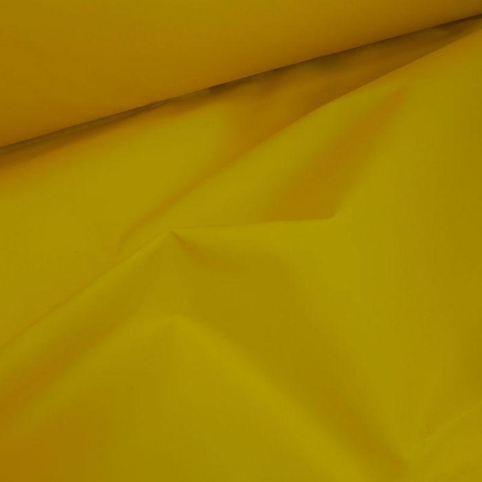 Tissu coton huilé sec - jaune x 10 cm