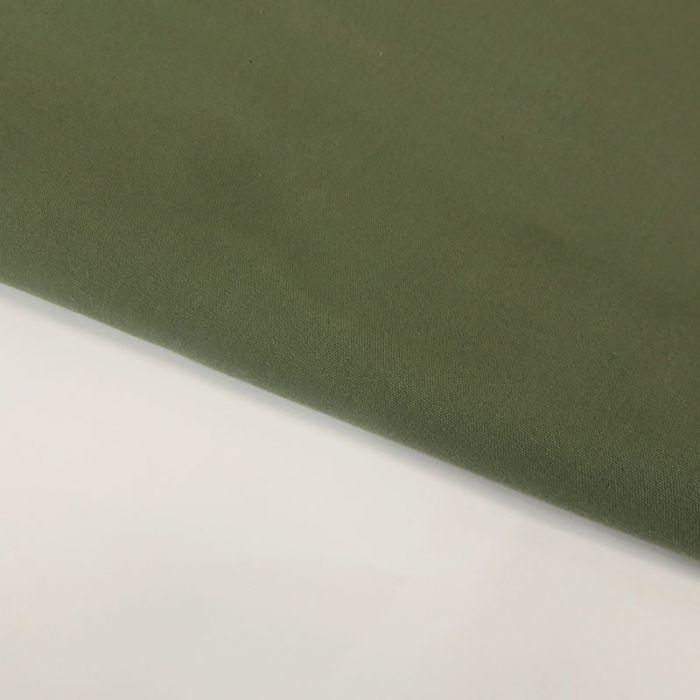 Tissu coton ciré lourd - vert x 10 cm