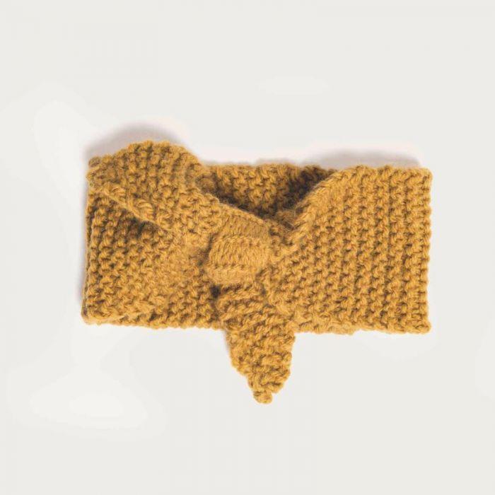 Kit tricot bandeau noeud en alpaga - Rico design