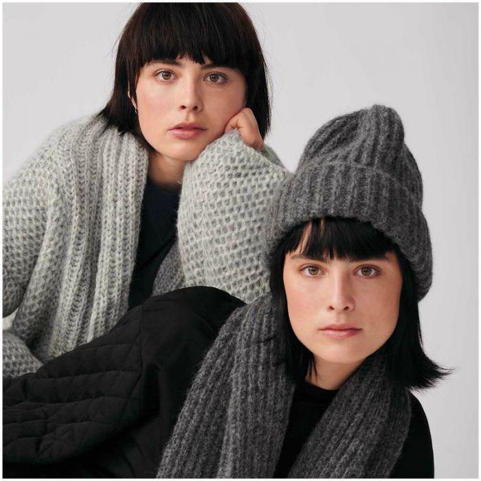 Kit tricot bonnet en côtes - Rico design