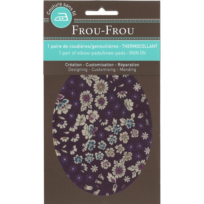 Genouillères / Coudières thermocollantes fleuries