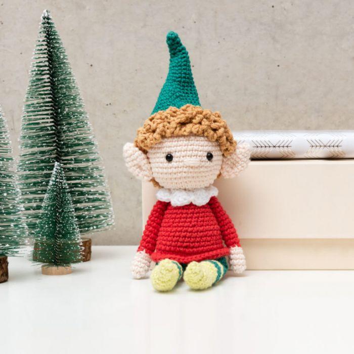 Kit crochet amigurumi Ricorumi - lutin