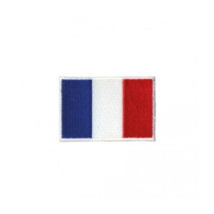 Ecusson thermocollant drapeau français
