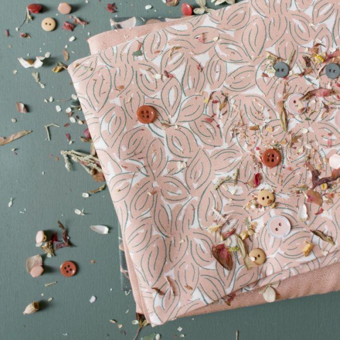 Tissu Petal Maple - Atelier Brunette x 10 cm