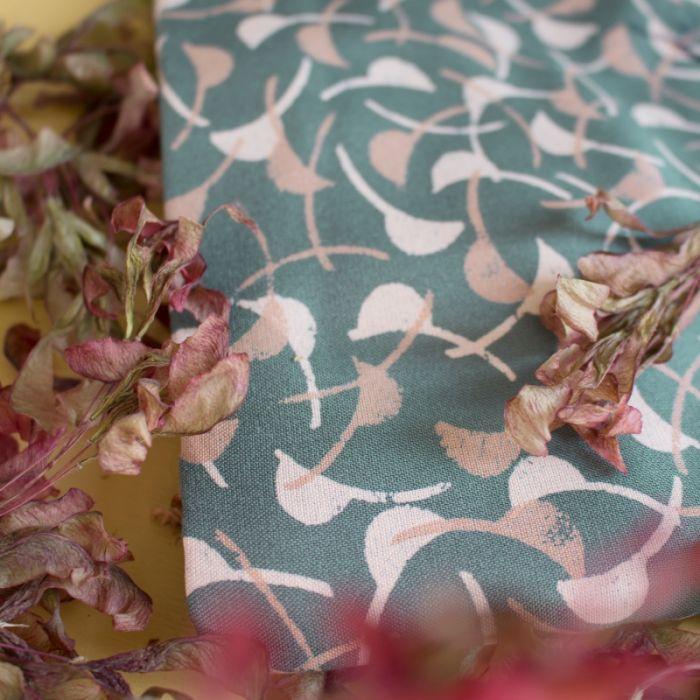 Tissu viscose Windy Cedar - Atelier Brunette x 10 cm