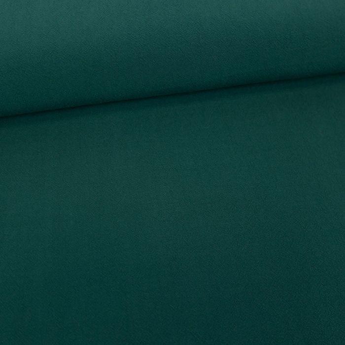 Tissu viscose uni - pétrole x 10 cm